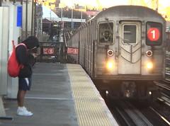NY Subway 227 (stevensiegel260) Tags: newyork subway elevated station platform train