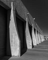 (el zopilote) Tags: albuquerque newmexico industrial street cityscape architecture powerlines signs pentax k1ii hdpentaxdfa28105mmf3556eddcwr bw bn nb blancoynegro blackandwhite noiretblanc monochrome