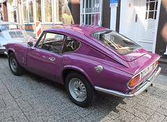 Triumph GT6 MkIII 1973 (Zappadong) Tags: triumph gt6 mkiii 1973 celle 2019 zappadong oldtimer youngtimer auto automobile automobil car coche voiture classic classics oldie oldtimertreffen carshow