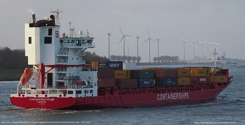 containerschips viii@piet sinke 19-01-2020