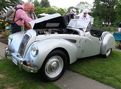 Lea-Francis 18 HP Sport 1953 (Zappadong) Tags: leafrancis 18 hp sport 1953 classic days schloss dyck 2019 zappadong oldtimer youngtimer auto automobile automobil car coche voiture classics oldie oldtimertreffen carshow