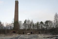 Clackmannan Brickworks (Matt 82) Tags: scotland clackmannan clackmannanshire industrial industry history nikon d800 january winter urbandecay urbex brickworks factory ruins chimney derelict