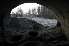 Clackmannan Brickworks (Matt 82) Tags: scotland clackmannan clackmannanshire industrial industry history d800 january winter nikon urbandecay urbex brickworks factory ruins chimney derelict