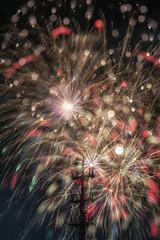 Rain of Fire (Lemuel Montejo) Tags: fireworkdisplay night celebration exploding firework explosive material sky illuminated outdoors event long exposure low angle view fireworks sinulog cebu lemuelmontejoartworks mvisuals pitsenyor