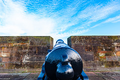 Canons @ Carlisle Castle.