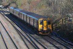 British Rail Class 150 (Tom_bal) Tags: british rail class 150 nikon d90 filton bank bristol great western railway gwr