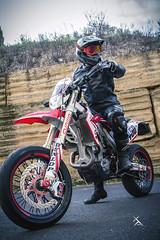 _MG_7098 (Xavier Alauze Photographie) Tags: moto urbain honda 450 crf hm motard biker supermotard slick fox alpinestars