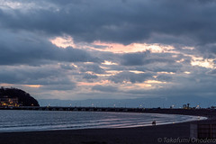 (takafumionodera) Tags: beach cloud fujisawa japan kataseeastbeach olympus penf sea sky sunset 夕焼け 海 海岸 片瀬東浜 空 藤沢 雲