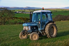 (Zak355) Tags: rothesay isleofbute bute scotland scottish ford tractor farm farming tractors 6610