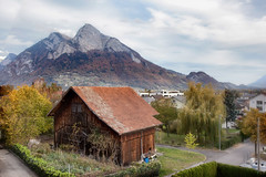 Olten Countryside _9600 (hkoons) Tags: westerneurope alps europe sarganserland swiss switzerland vilters vilterswangs wahlkreis wangs autumn hills landscape mountains natural naturalist nature outdoors outside travel village