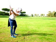6893 - Drive (Diego Rosato) Tags: drive golf club green verde roma rome parco park medici antonio fuji x30 rawtherapee