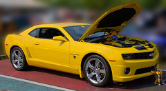 Camaro Bumble Bee (Scott 97006) Tags: car yellow vehicle automobile show