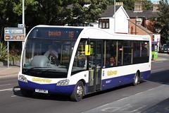 Optare Solo SR (DennisDartSLF) Tags: ipswich bus optare solosr 333 galloway yj65ewg