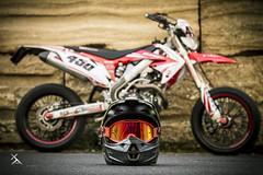 _MG_7149 (Xavier Alauze Photographie) Tags: moto urbain honda 450 crf hm motard biker supermotard slick fox alpinestars
