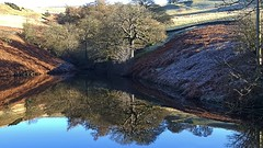 Fernilee Reservoir Peak, District (philept1) Tags: water reservoir reflection outdoors buxton peakdistrict derbyshire frost fernilee goyt lake countryside view valley