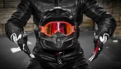 _MG_7142 (Xavier Alauze Photographie) Tags: moto urbain honda 450 crf hm motard biker supermotard slick fox alpinestars