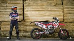 _MG_7114 (Xavier Alauze Photographie) Tags: moto urbain honda 450 crf hm motard biker supermotard slick fox alpinestars