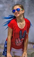 Young Tap Dancer (Scott 97006) Tags: girl dancer cute shades usa