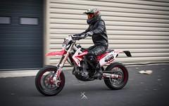 _MG_7184 (Xavier Alauze Photographie) Tags: moto urbain honda 450 crf hm motard biker supermotard slick fox alpinestars