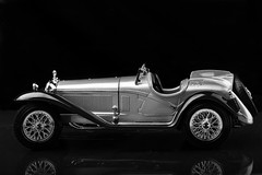 You can only dream about it.... Alfa Romeo 8C Spider silver 1932 (h.dirix) Tags: classic car oldtimer alfa romeo spider