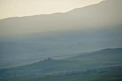 Toskana im Morgendunst (NPPhotographie) Tags: nature art creative oberberg npp magic morning magical mist fog dust toskana italy spring