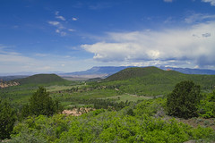 View From Kolob Terrace Road - 2018 (Bernie Emmons) Tags: zionnationalpark sky bluesky clouds green landscape mountains