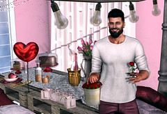 [ 📷 - 289 ] (insociable.sl) Tags: vanity yourdreams crystal elemens magnificient romance heart valentine roses love romantic beard boy man male edit sl secondlife