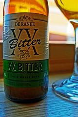 Label (De Ranke XX - 6% Blond) Panasonic LX15 (markdbaynham) Tags: beer belgiumbeer bottle cerveza birra ale glass closeup lx10 lx lx15 dmclx15 lumix lumixer panasoniclumix panasonic panasoniclx15 1 1inch compact highendcompact brokensealtaphouse bar pub drink