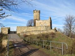 die Mühlburg (germancute ***) Tags: ruin burg castle thuringia thüringen germany germancute deutschland landscape landschaft