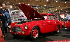 Ferrari Tipo 166 Inter Coupé Carrozzeria Superleggera by Touring 1949 (XBXG) Tags: co47181 ferrari tipo 166 inter coupé carrozzeria superleggera by touring 1949 ferrari166 red rood rouge coupe v12 interclassics 2020 forum expo exhibition mecc maastricht limburg nederland holland netherlands paysbas vintage old classic italian car auto automobile voiture ancienne italienne italie italia italy vehicle indoor