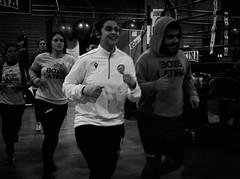 7876 - Run (Diego Rosato) Tags: run corsa giuditta alessandra beatrice boxer pugile boxe boxing pugilato boxelatina allenamento training bianconero blackwhite fuji x30 rawtherapee