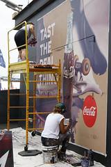 Sydney snapshot #_GB_0671 (gunnar.berenmark) Tags: sydney australia australien newsouthwales nsw city stad urban advertising artist