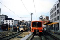 STIB 207+208-01-03-1988--1303 (phi5104) Tags: métro belgië belgique bruxelles brussel stib mivb
