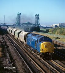 BR Blue 37178 (chrissyMD655) Tags: class 37 37178 br blue teesside middlesborough newport bridge boulby mine