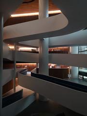 2020-01-FL-227119 (acme london) Tags: atrium bank bourkestreet foyer hassell interior medibank melbourne office spiralramp spiralstair wurundjeriway