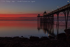 IMG_0555 (del.hickey) Tags: clevedon pier sunset