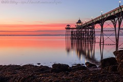 IMG_0554 (del.hickey) Tags: clevedon pier sunset