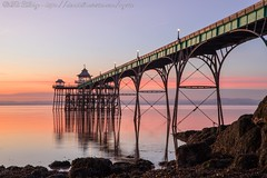 IMG_0550 (del.hickey) Tags: clevedon pier sunset