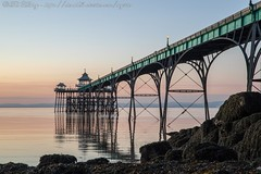 IMG_0541 (del.hickey) Tags: clevedon pier sunset