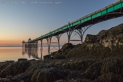 IMG_0540 (del.hickey) Tags: clevedon pier sunset