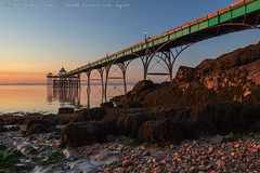 IMG_0534 (del.hickey) Tags: clevedon pier sunset