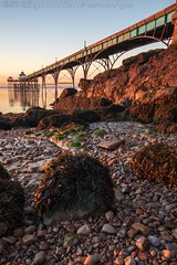 IMG_0533 (del.hickey) Tags: clevedon pier sunset