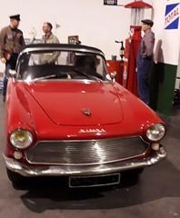 Simca coupé Plein ciel 1960 (Philippe Aubry) Tags: voiture automobile coupé simca simcapleinciel1960
