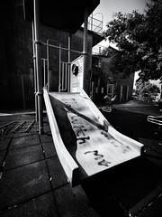 Play With Me (Feldore) Tags: hongkong mawan ma wan abandoned derelict playground children slide sad poignant hong kong urbex feldore mchugh huawei p30 pro town village