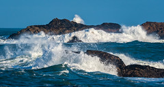 Magic morning sea (odileva) Tags: hiver westerncape waves paysage southafrica latlanticsea nature paternosternaturereserve coth5