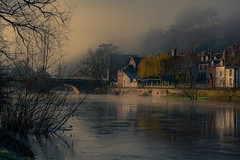 River View_ (Andy..D) Tags: bridgnorth d500river severn riversevern shropshire view early morning frosty mist home town water