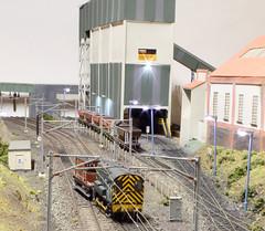 Brake van shunt (Chris Shutt) Tags: shunter class 08 model rail oo gauge ole ecml colliery coal
