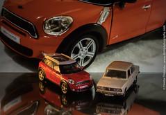 Mini Cooper and Polski Fiat 125P (Dimitar Dimitroff) Tags: mini minicooper polskifiat polski fiat car cars photooftheday photography