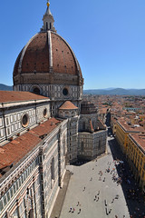 Duomo di Firenze (Thomas Roland) Tags: unesco world heritage site europe europa italy italia italien sommer summer nikon d7000 travel rejse toscana tuscany by stadt town city firenze florence duomo cattedrale church katedral domkirke kirche cathedral