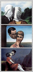 1928 MRla100119 © Théthi (thethi: pls read my first comment, tks) Tags: couple peinture amant homme femme surréalisme huile toile tableau 20es 1928 magritte wallonie belgique belgium mosaïque collage